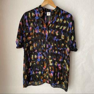 Cabi Sabine Watercolor blouse